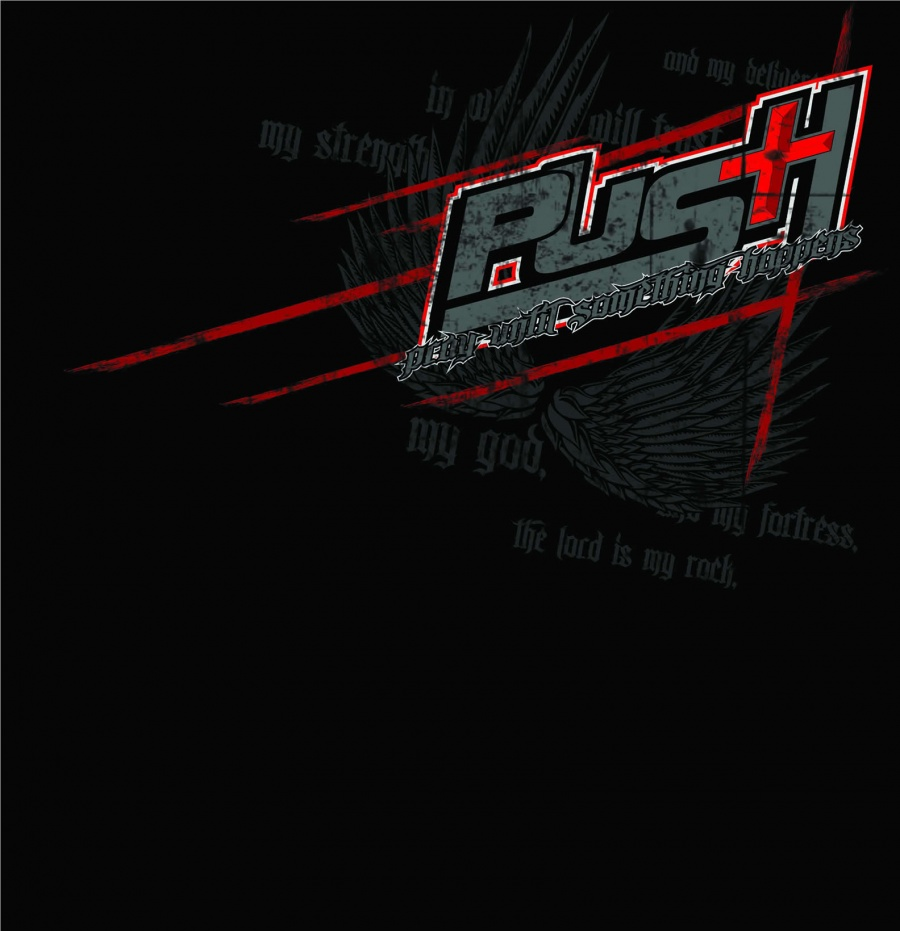 Ryan Heavner PUSH Foundation-Ryan Heavner T-Shirts ( Front )