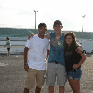 2012 Rev-Oil Pro Cup Series (Myrtle Beach Speedway) Friends and Former Go-Kart Racers