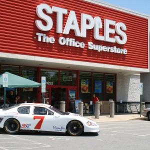 2012 Ryan Heavner Push Show Car at Staples