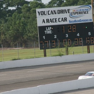 2012 Ryan Heavner Rev-Oil Pro Cup Series (Myrtle Beach Speedway) Leading