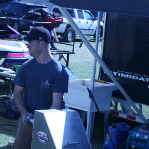 Daniel Armstrong - Tire Guru for the RHR Racing Team