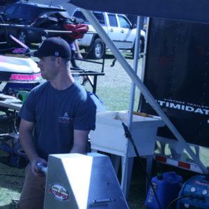 Daniel Armstrong - Tire Guru for the RHR Racing Team