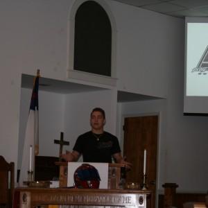 Ryan Heavner PUSH Foundation Speech to Long Shoals Wesleyan Academy
