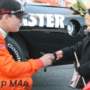 Ryan Heavner Visiting Young Fan