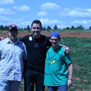 Ryan Heavner Visits Devine Farms Fund Raiser