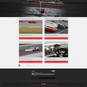 Ryan Heavner Racing ARCA Racing Series Driver Website - Walters Web Design