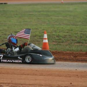 Ryan Heavner Dirt Kart