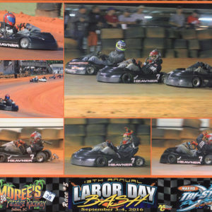Ryan Heavner Labor Day Bash Kart Race