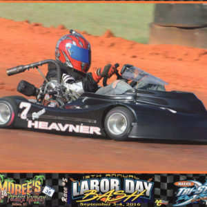 Ryan Heavner Labor Day Bash Karting