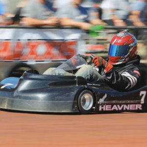 Ryan Heavner - Maxxis Nationals Karting Photo