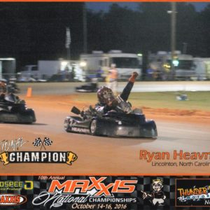 Ryan Heavner - Maxxis National Championship Karting Photo