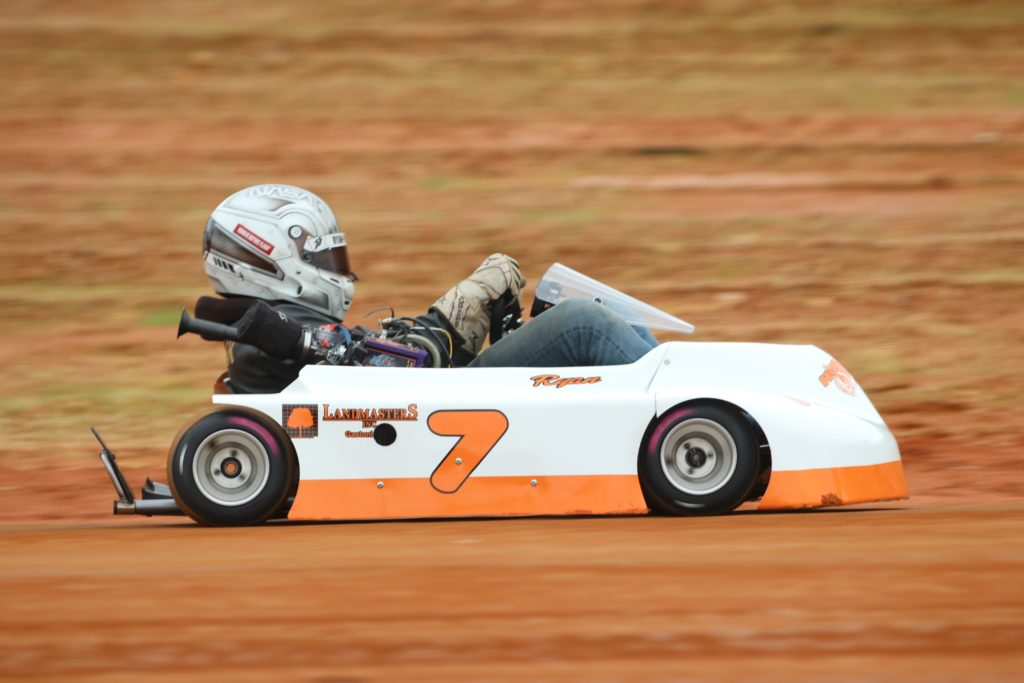 Ryan Heavner - 7 Dirt Oval Kart