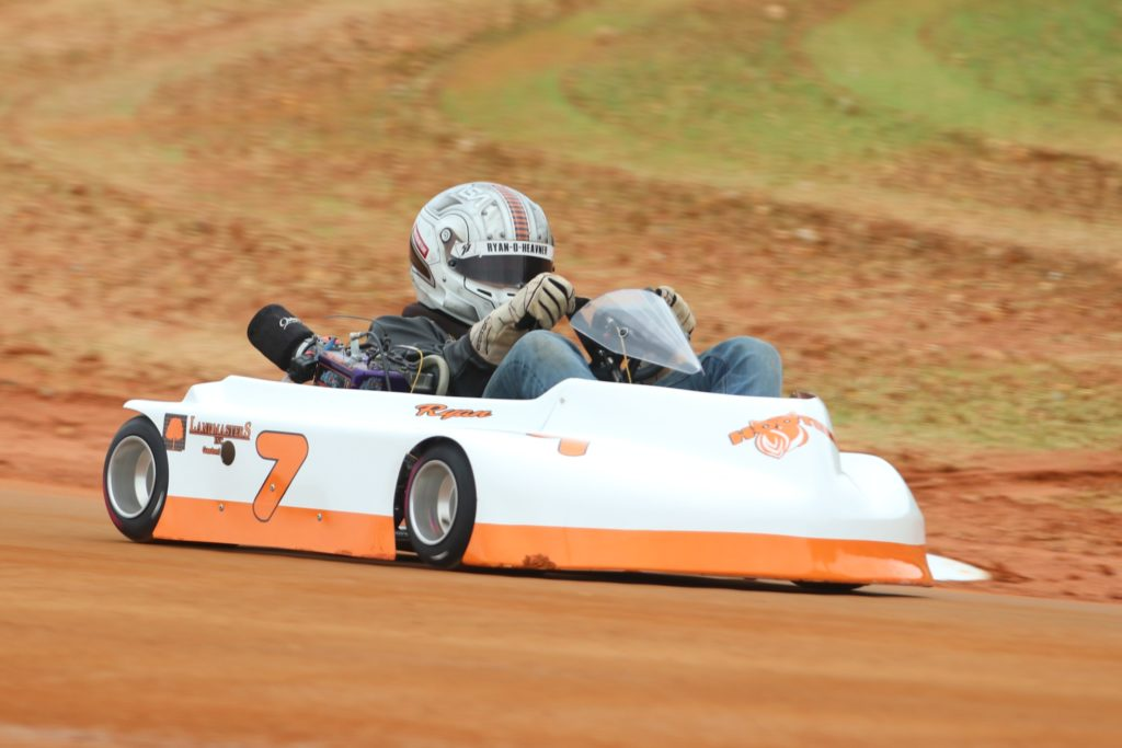 Ryan Heavner - 7 Hooters Dirt Karting