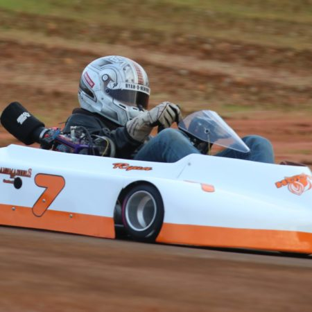 Ryan Heavner - 7 Hooters Kart
